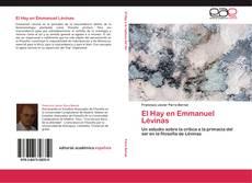 Bookcover of El Hay en Emmanuel Lévinas