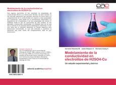 Обложка Modelamiento de la conductividad en electrolitos de H2SO4-Cu
