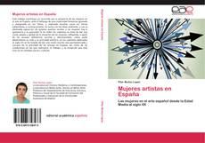 Обложка Mujeres artistas en España