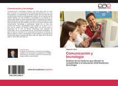 Portada del libro de Comunicación y tecnología