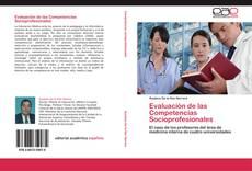 Portada del libro de Evaluación de las Competencias Socioprofesionales
