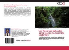 Capa do livro de Los Recursos Naturales como fuente de desarrollo sostenible