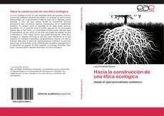 Buchcover von Hacia la construcción de una ética ecológica