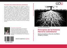 Buchcover von Principios de la historia literaria colombiana
