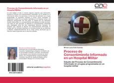 Capa do livro de Proceso de Consentimiento Informado en un Hospital Militar