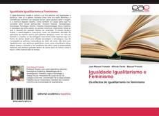 Buchcover von Igualdade Igualitarismo e Feminismo