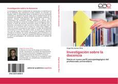 Bookcover of Investigación sobre la docencia