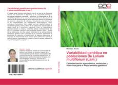 Portada del libro de Variabilidad genética en poblaciones de Lolium multiflorum (Lam.)
