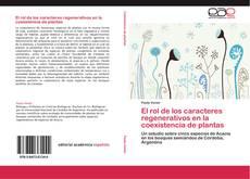 Buchcover von El rol de los caracteres regenerativos en la coexistencia de plantas