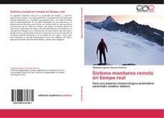 Buchcover von Sistema monitoreo remoto en tiempo real