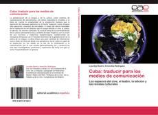 Обложка Cuba: traducir para los medios de comunicación