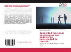 Capa do livro de Capacidad funcional en personas que padecieron enfermedad de Hansen