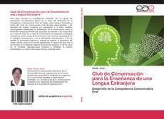 Portada del libro de Club de Conversación para la Enseñanza de una Lengua Extranjera