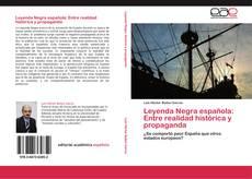 Capa do livro de Leyenda Negra española: Entre realidad histórica y propaganda