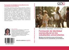 Couverture de Formación de identidad sociocultural en los estudiantes universitarios