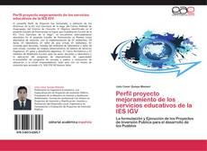 Bookcover of Perfil proyecto mejoramiento de los servicios educativos de la IES IGV