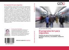 Bookcover of El programa 3x1 para migrantes