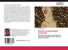 Bookcover of Temas en psicología profunda