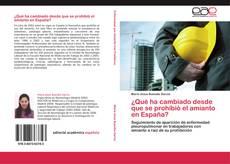 Copertina di ¿Qué ha cambiado desde que se prohibió el amianto en España?