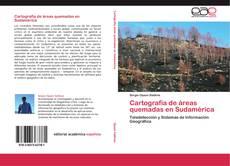 Portada del libro de Cartografía de áreas quemadas en Sudamérica