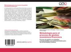 Buchcover von Metodología para el proceso de gestión económico-financiera
