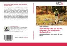 Buchcover von África negra en los libros de viajes españoles del Siglo de Oro