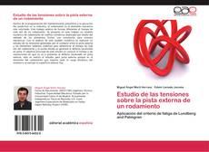 Bookcover of Estudio de las tensiones sobre la pista externa de un rodamiento