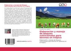 Portada del libro de Elaboracion y manejo de bloques nutricionales para bovinos en trópico