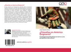 Обложка ¿Filosofías en América Originaria?