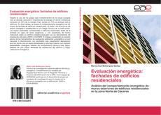 Portada del libro de Evaluación energética: fachadas de edificios residenciales