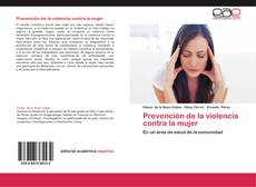 Copertina di Prevención de la violencia contra la mujer