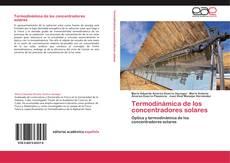 Buchcover von Termodinámica de los concentradores solares