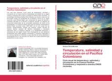 Обложка Temperatura, salinidad y circulación en el Pacífico Colombiano