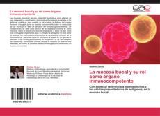 La mucosa bucal y su rol como órgano inmunocompetente kitap kapağı