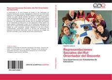 Buchcover von Representaciones Sociales del Rol Orientador del Docente