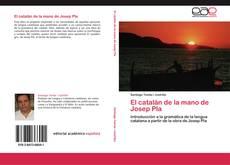 Capa do livro de El catalán de la mano de Josep Pla