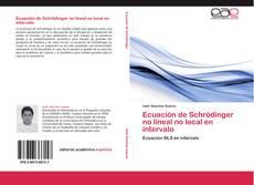 Обложка Ecuación de Schrödinger no lineal no local en intervalo