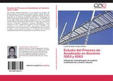 Portada del libro de Estudio del Proceso de Anodizado en Aluminio 3003 y 6063