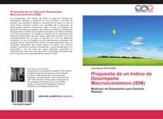 Couverture de Propuesta de un Indice de Desempeño Macroeconómico (IDM)