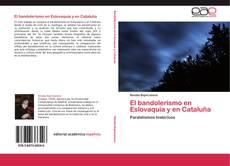 Portada del libro de El bandolerismo en Eslovaquia y en Cataluña