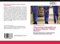 """Portada del libro de Infecciones neonatales en la Clínica Popular """"Simón Bolívar"""""""
