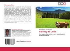 Capa do livro de Siboney de Cuba