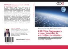 Portada del libro de PROYEVA: Sistema para evaluar la calidad de proyectos en concursos