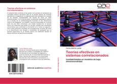 Borítókép a  Teorías efectivas en sistemas correlacionados - hoz