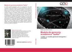 "Buchcover von Modelo de gerencia académica ""leafar"""