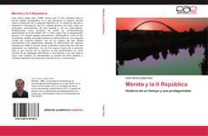 Portada del libro de Mérida y la II República