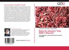 """Capa do livro de Rosa de Jamaica """"Icta 0205 = Rosicta"""""""