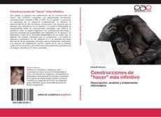 """Buchcover von Construcciones de """"hacer"""" más infinitivo"""