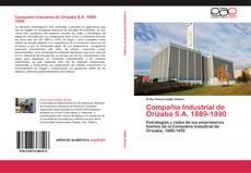 Buchcover von Compañía Industrial de Orizaba S.A. 1889-1930