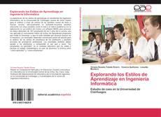 Buchcover von Explorando los  Estilos de Aprendizaje en Ingeniería Informática